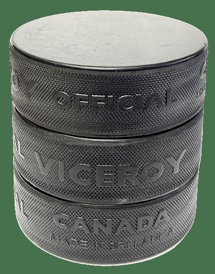 Blank Hockey Puck Stack