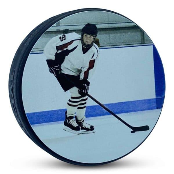 Custom Picture Hockey Puck