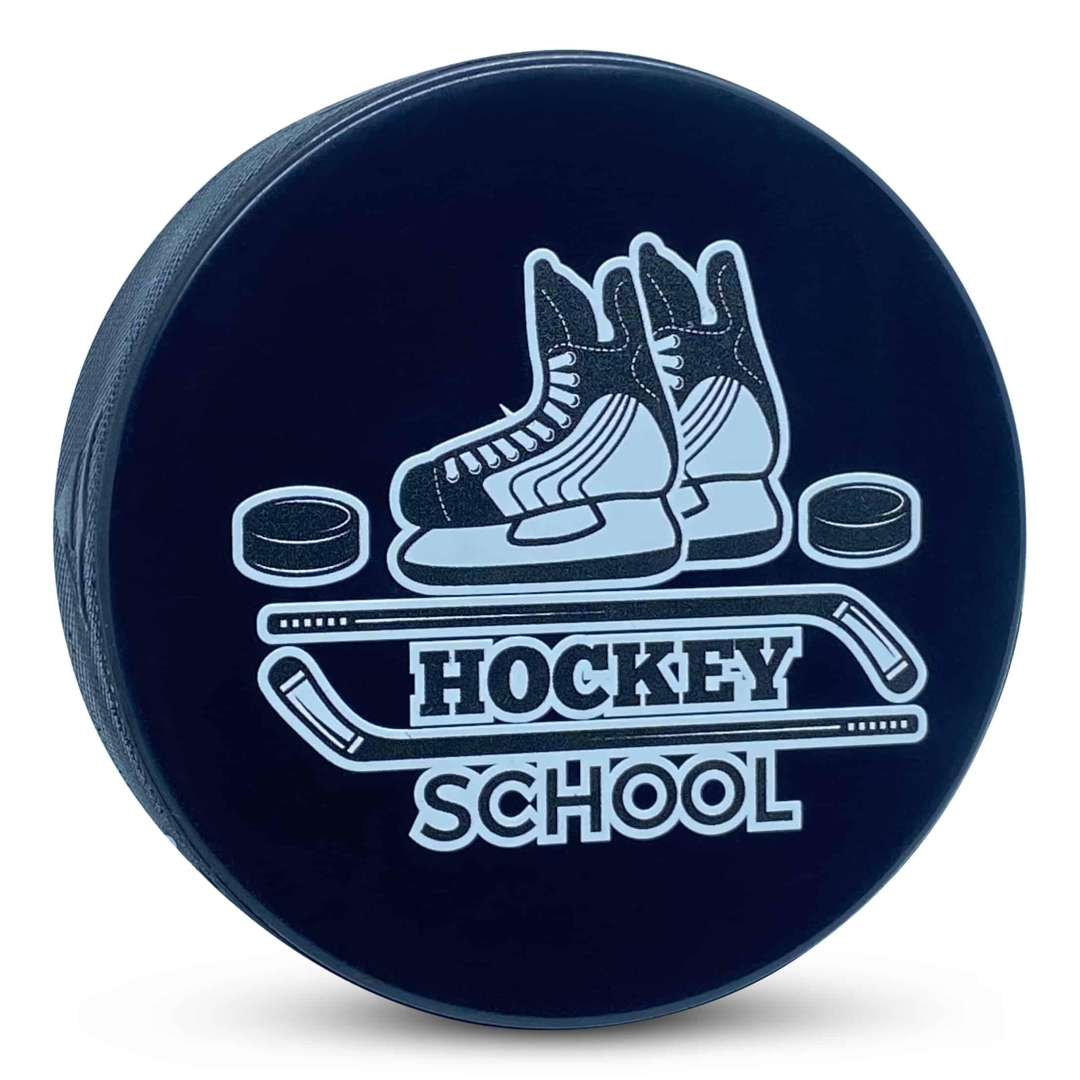 Custom Hockey School Hockey Puck